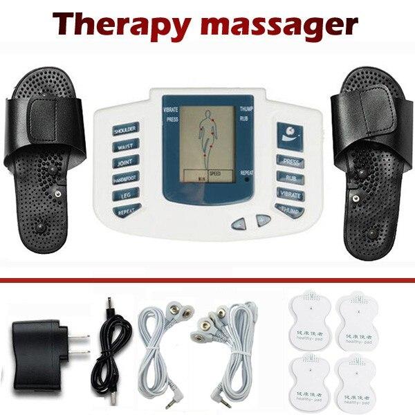 Электрический массажер для всего тела, спины, шеи, ног, боли в мышцах, сжигание жира, терапия, массажер, массажер для массажа и релаксации