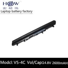5200MAH laptop battery forACER Aspire V5 V5-131 V5-171 V5-431 V5-471 V5-531 V5-571 V5-571G V5-571PG AL12A32