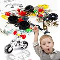 Assemblage DIY 3D Motorcycle Metal Model Puzzle Toys Gifts For Children Kids