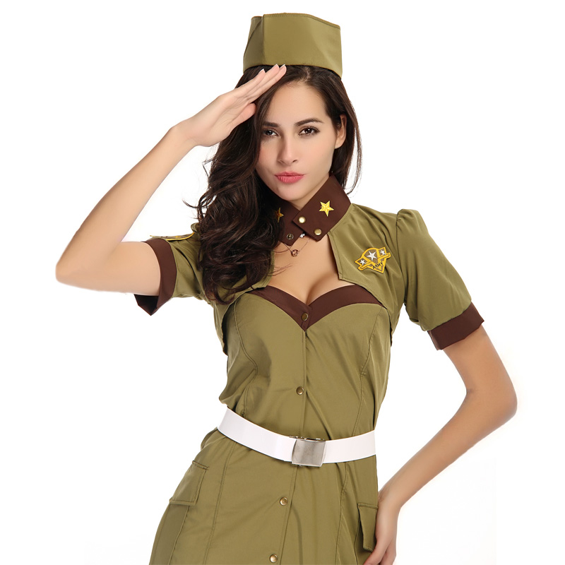 100 real photo wholesale sexy girl woman cop officer uniform halloween adult fancy dress policemen policewoman costume - Girls Cop Halloween Costume