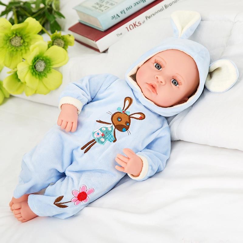 Poupée douce reborn smart touch bébé parlant poupée jouet chantant faire bébé son réel nouveau-né bébés enfants cadeau bonecas