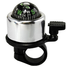 New Mountain Bike Bicycle Compass Bell For Safety Multi Colors Cycling Accessories Retail&Wholesale Free Shipping  High quality