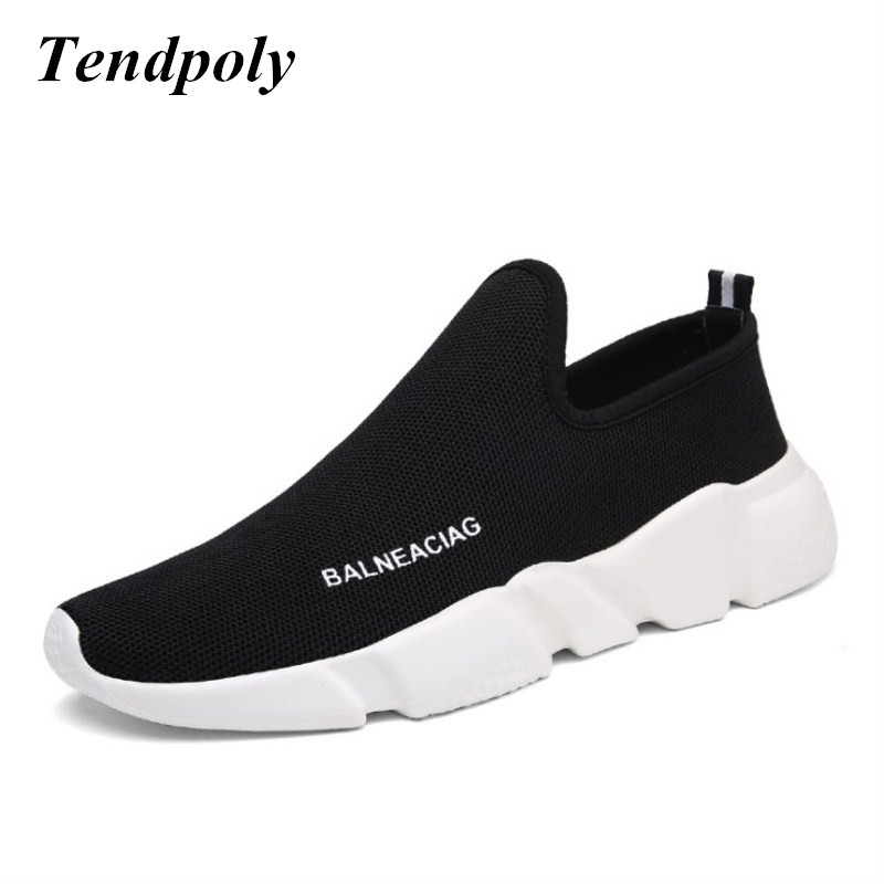 2018 The new retro fashion men mesh shoes Soft light and heavy-bottomed spring summer hot models wild Cozy casual men's shoes стоимость