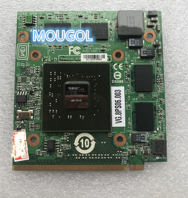 FOR Laptop Acer Aspire 5920G 5520 5920 GeForce VG.8PS06.001 8600 8600M GS G86-770-A2 MXM II 256MB Graphics VGA Video Card