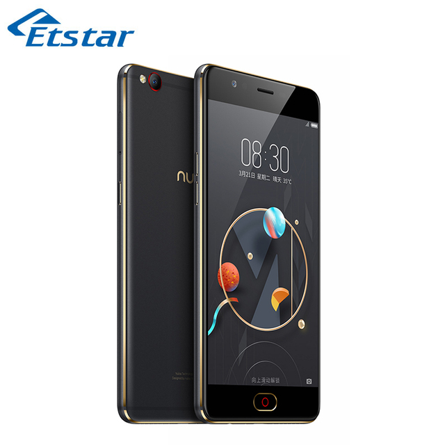 Original ZTE Nubia M2 Lite Smartphone 5.5'' MTK MT6750 Quad Core 3GB RAM 64GB ROM 16.0MP Camera Dual SIM Card FDD-LTE B20
