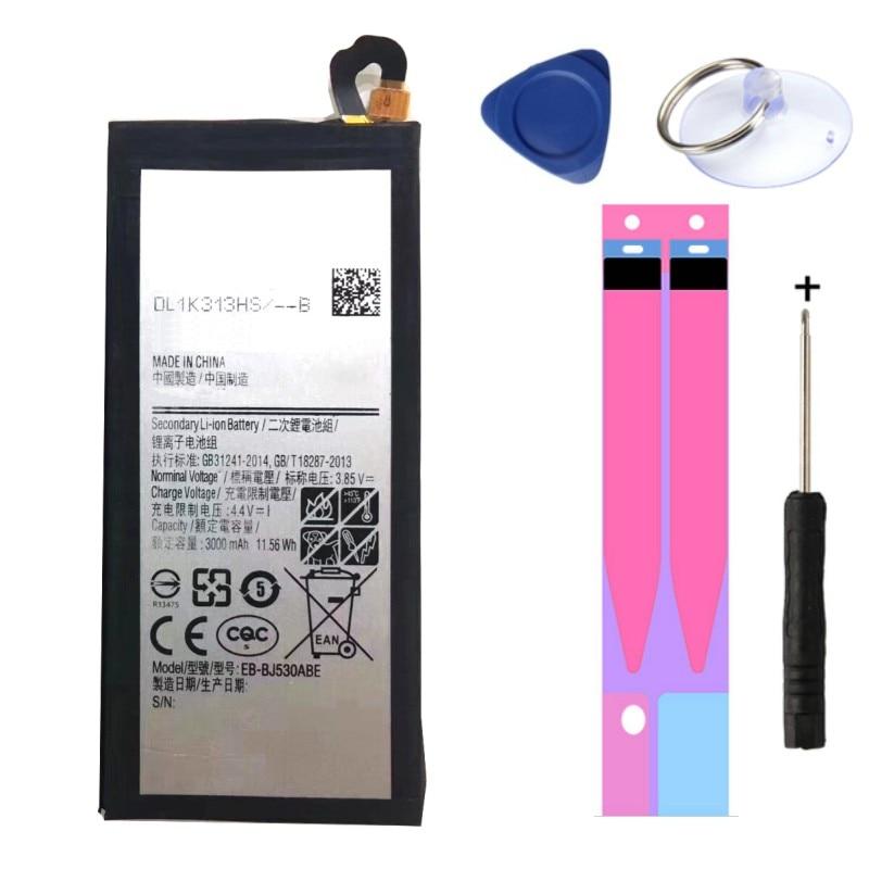 NOVA EB-BJ530ABE 3000mAh Da Bateria Do Telefone Para Samsung Galaxy J5 Pro 2017 J530 Substituição Da Bateria AAA de Alta Qualidade Ferramentas de Presente