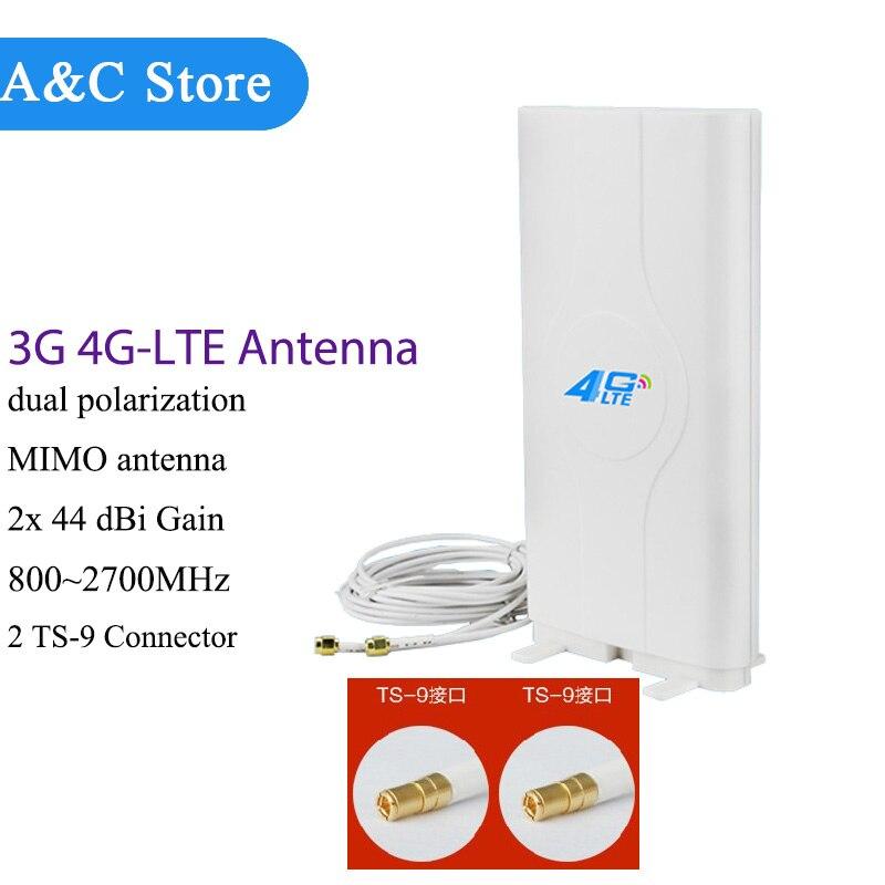 bilder für 5 teile/los 4g lte antenne 800 ~ 2700 mhz mimo wifi antenne ts-9 zte mf telstra optus huawei e3 e5