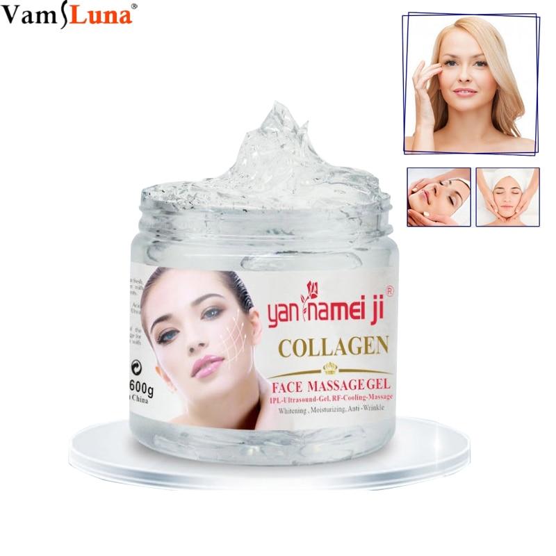 Device Ultrasonic Gel 600ml/bottle Ultrasound IPL Cooling Gel Skin Firm Lift Tighten RF Transmission Gel Effective Beauty Leave