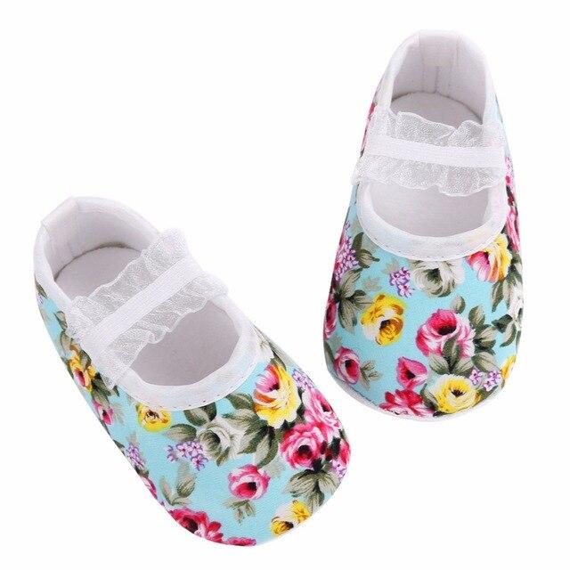 3538a73651654 2016 Floral Accessoires de Fête De Bébé Princesse Enfant En Bas Âge  Chaussures Bandeau Ensemble Enfants