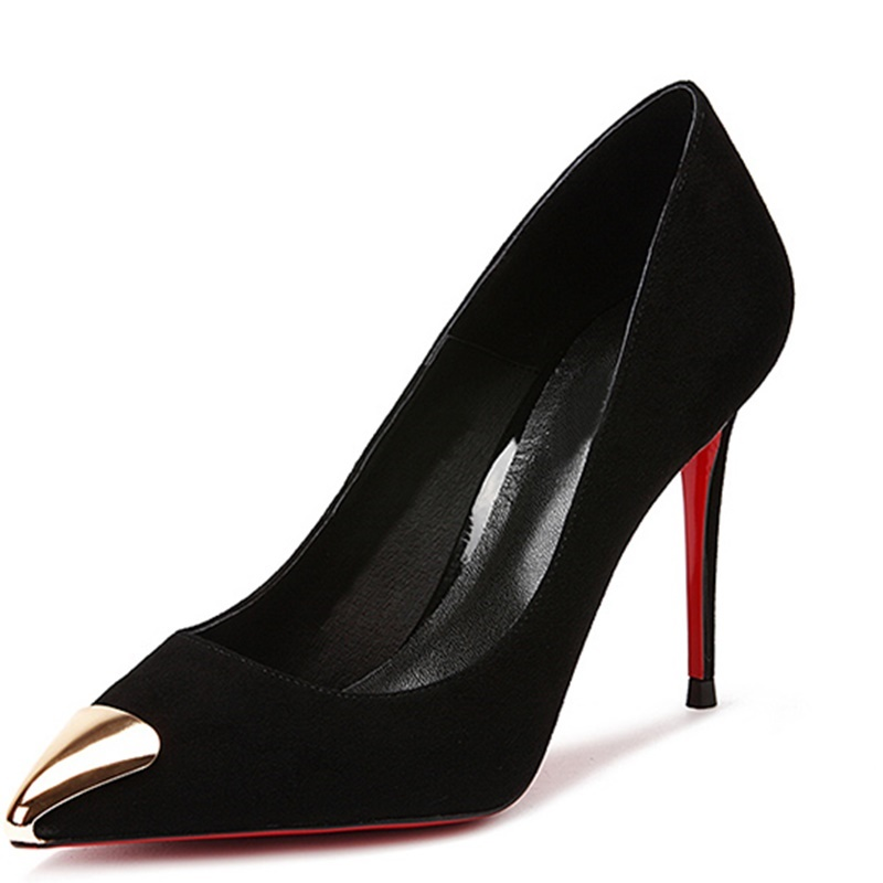 Red Sole High Heels