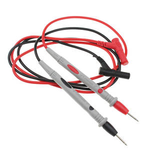 1 Pair Probe Test Leads Pin For Digital Multimeter Needle