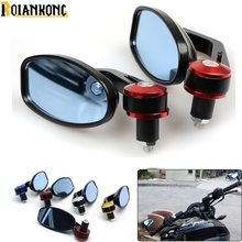 For BMW F 650GS 700GS 800GS 800GT 800R 800S 800ST Motorcycle Rearview Mirror Rear View Handle bar End Black Side Mirrors