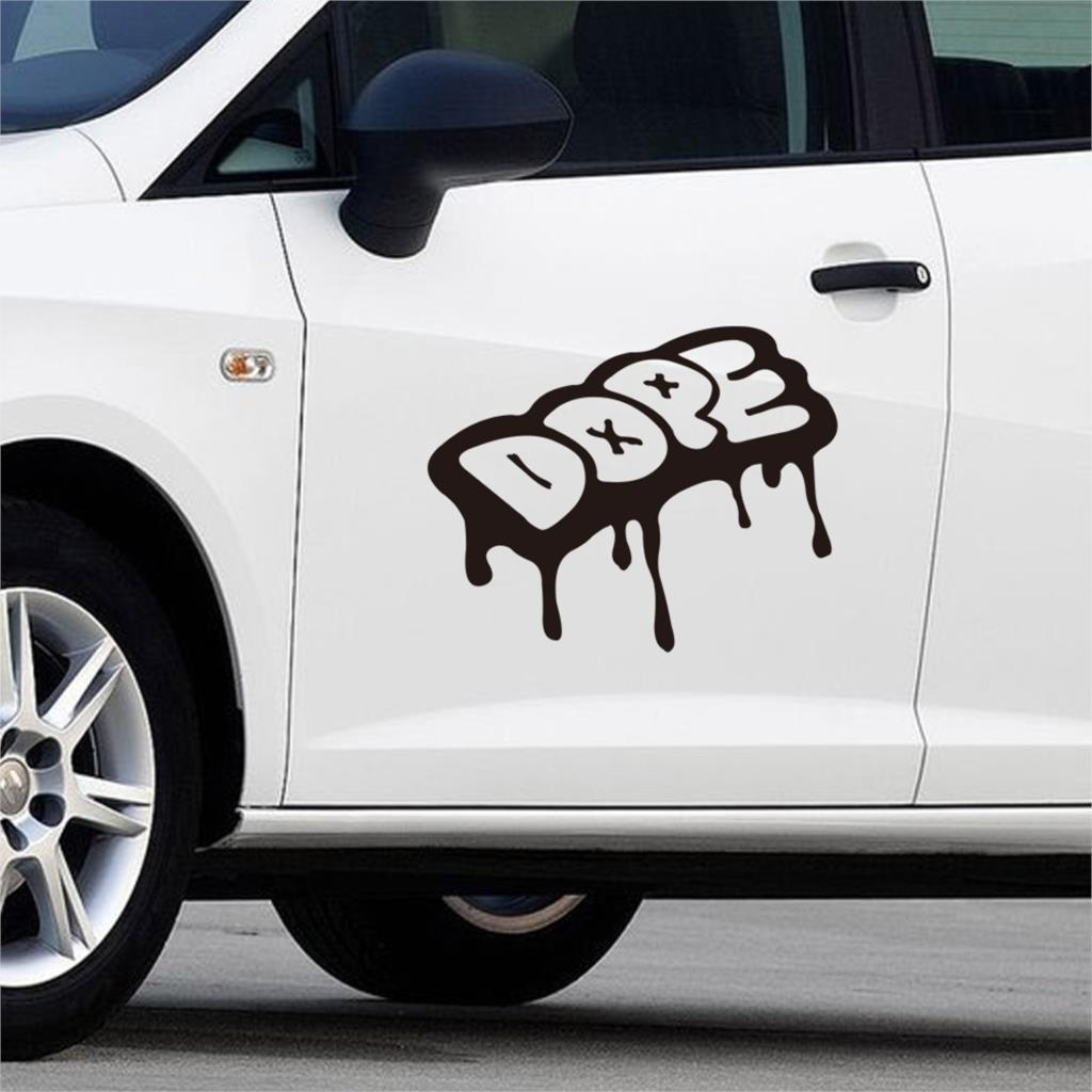 Car stickers design hd - Graffiti Lettering Quotes Wall Stickers Car Decor Vinyl Art Mural Removable Retail