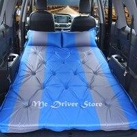 Надувная кровать для автомобиля путешествия кровать Авто воздушный матрас 5 см Губка Подушка Кемпинг Отдых коврик для самостоятельного вож
