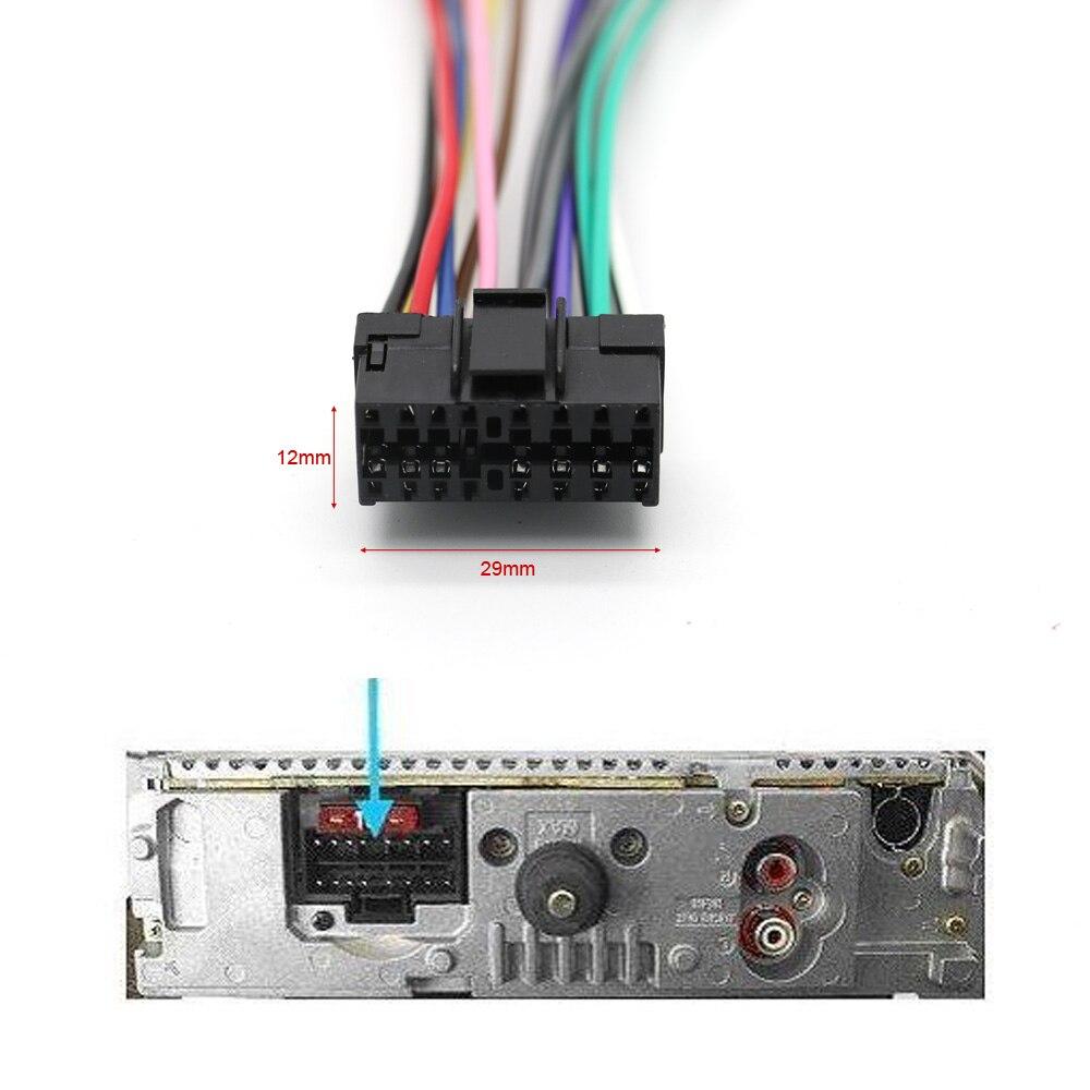 Auto CD Radio Audio Stereo ISO Standard Kabelbaum Stecker Draht ...