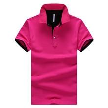 2016 Summer Short Sleeve Polo Shirt Men M-4XL ASIAN SIZE 11 Solid color Choose