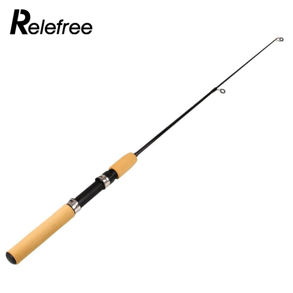 Relefree 65CM Portable Fishing Rod Spinning Feeder Sea Fish Hard Tackle Pole Equipment