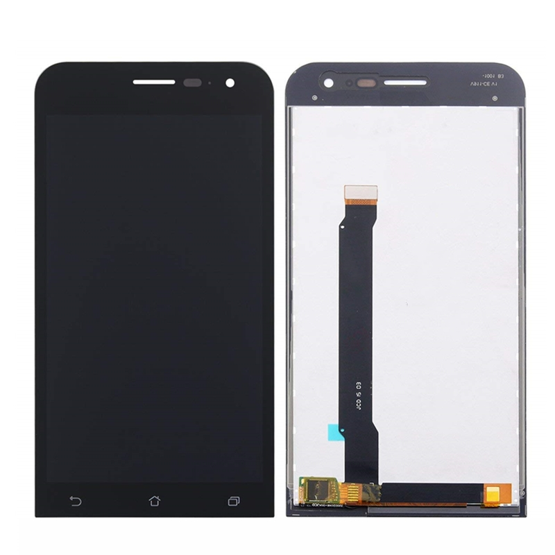 For <font><b>ASUS</b></font> <font><b>ZenFone</b></font> <font><b>2</b></font> <font><b>ZE500CL</b></font> Z00D LCD Display With Touch <font><b>Screen</b></font> Digitizer Sensor Panel <font><b>Glass</b></font> Assembly Replacement Parts With Frame image