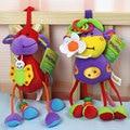 2017 Baby Toys 0-12 Месяцев Развития Детские Музыкальный Мобильный Погремушки Детские Погремушки в Кроватке Колокольчик Кукла Plush Toys