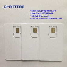 OYEITIMES Blank EVDO SIM Cards 3G Network Card Programable Mini,Micro and Nano