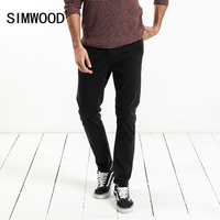 SIMWOOD 2017 Winter New Pants Men Slim Fit Casual Skinny Trousers Plus Size High Quality Brand