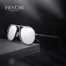 c684bc0936 Gafas de sol polarizadas FENCHI de moda para mujer marco de Metal gafas de  sol de