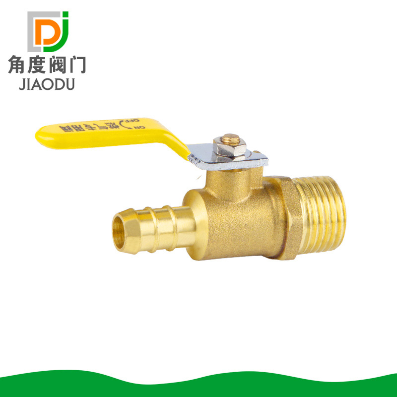 Brass Valve Copper Ball Valve Outside The Wire Long Handle Gas Nozzle Valve DN15 Gas Ball Valve