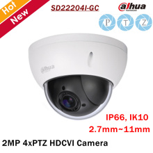 Dahua PTZ Camera SD22204I-GC 2MP 1/2.7 cmos 4x PTZ HDCVI Camera 2.7mm-11mm Focal Length for Outdoor ip camera security cam