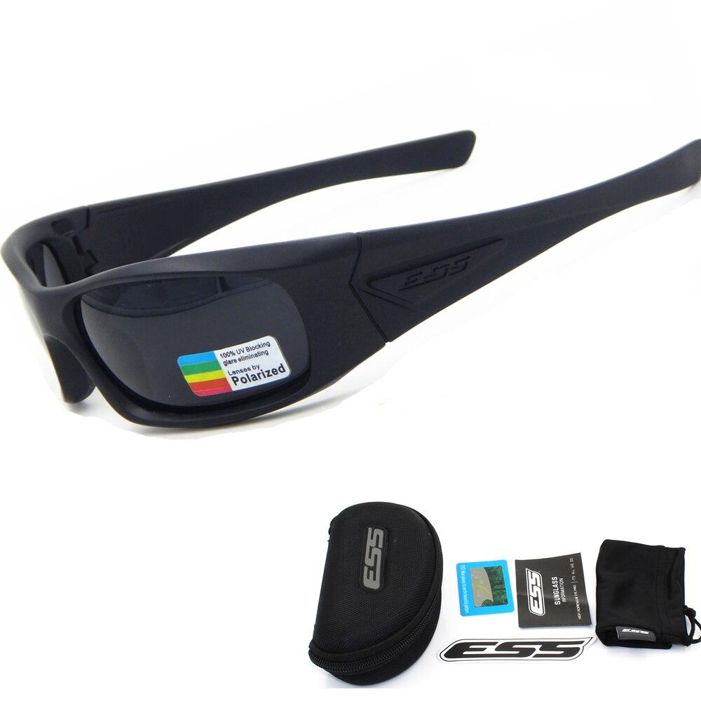 Prix pour ESS 5B Boîte Foi lunettes polarisées objectif Tactique lunettes de Soleil UV400 Militaire Lunettes TR90 Armée CS Google pare-balles Lunettes