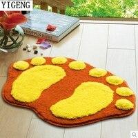 Fashion Design 2016 Hot Sale Living Room Carpet Nine Colors Bath Mat Soft Touch High Qulity