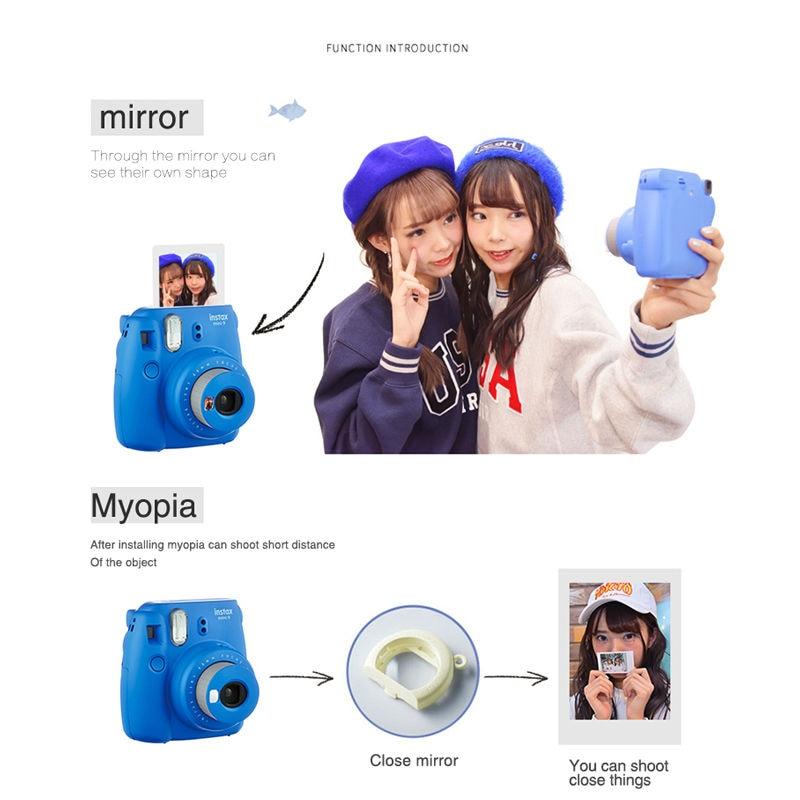 Fujifilm instax mini 9 Instantanea Caméra 10*2 Film Papier Caméra Sac 36 pcs album Photo Fujifilm Instax Mini 8 Version mise à jour - 2