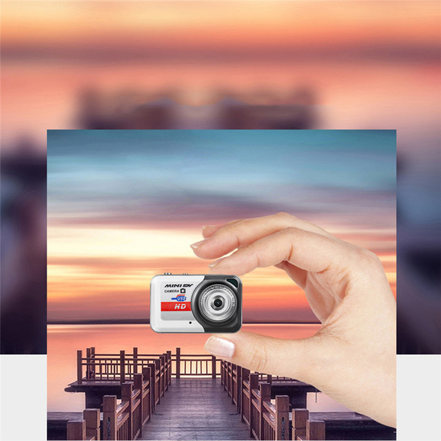 New Version Small Size X6 Gray Mini HD Digital Camera Hot Sale Portable Ultra Mini HD Digital Camera Finger Size Digital Camera