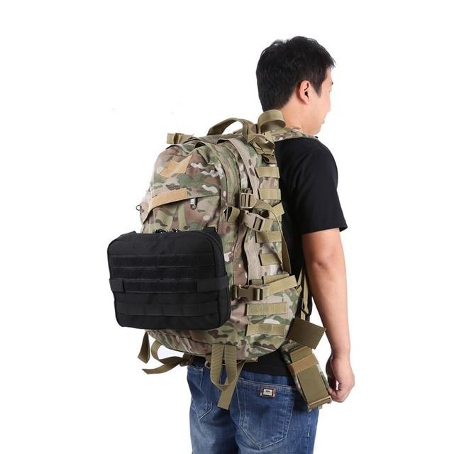 Bolsa MOLLE Admin Malote Tático Militar ao ar livre Multi Kit Médico Saco Bolsa de Utilidade Ao Ar Livre Camping Caminhadas Caça Sacos