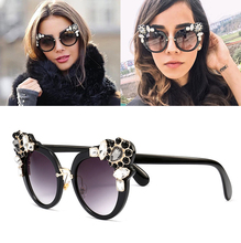 JackJad 2017 New Fashion Luxury Decoration Cat Eye Style Sunglasses Cool Brand Design Women Vintage Sun Glasses Oculos De Sol
