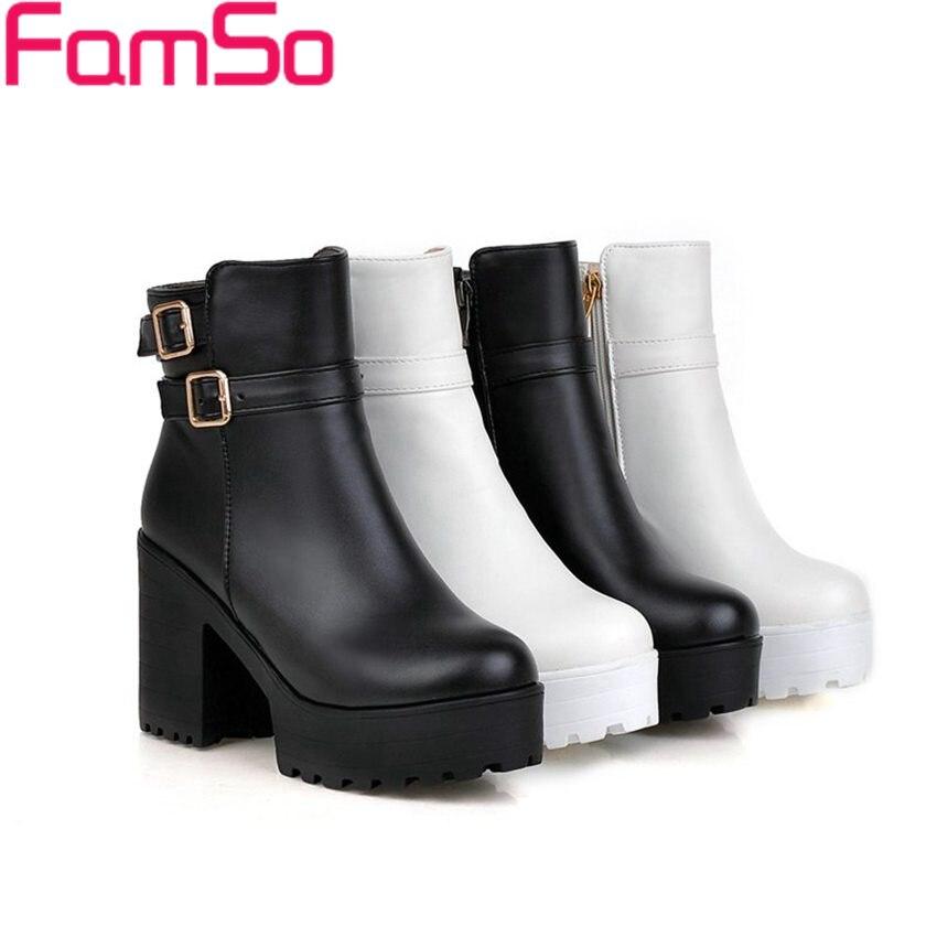 Plus Size34 43 2016 new Sexy font b Women b font Boots Black high Heels Riding