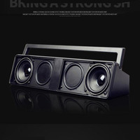 Boombox Amplifiers Bluetooth FM Radio MP3 Play USB TF Card Slots HiFi Subwoofer Computer Speaker TV