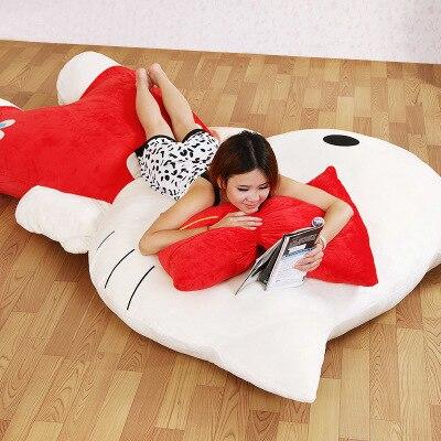 Princesse KT canapé lit de bande dessinée Unique tatami tapis Belle creative petite chambre canapé lit chaise