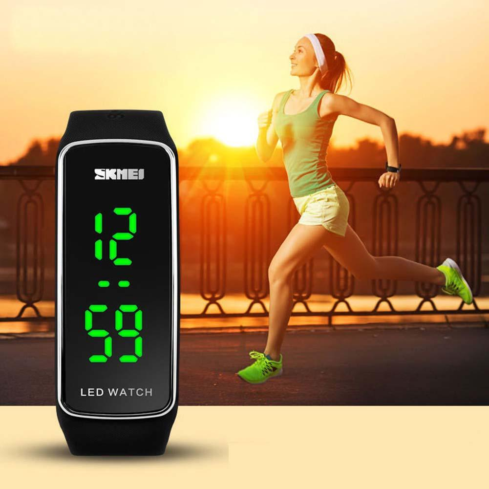Digital Wrist Watch Silicone LED Sport Bracelet Touch Long-original Battery Women Men High Quanlity Luxury Digital Watches