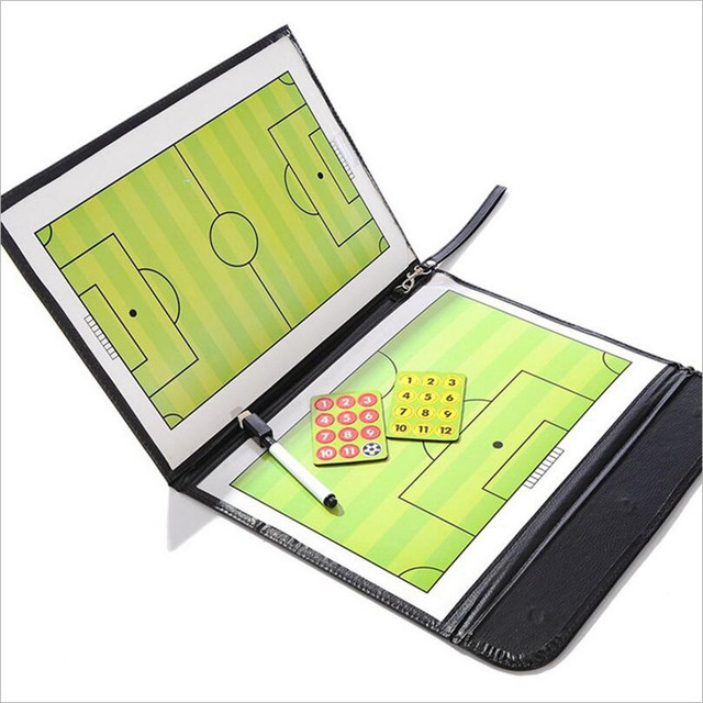 Foldable Magnetic Coach Board for Soccer, Basketball or Volleyball