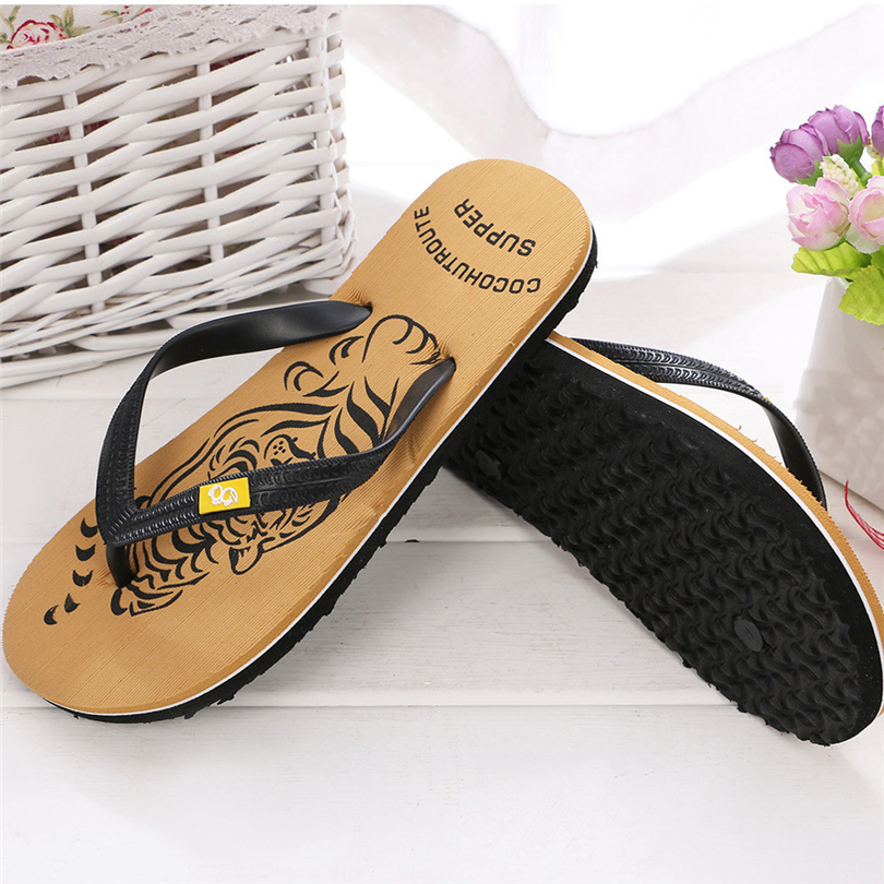 SIKETU Men's Bath Flip-flops Slippers Beach Sandals Indoor&Outdoor Casual Shoes Sandals Men Sapato Masculino Men Chinelo A30