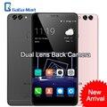 "Bluboo dual 4g lte smartphone de doble cámara trasera android 6.0 MTK6737T Quad Core 2G RAM 16G ROM 13MP 3000 mAh 5.5 ""FHD Teléfono Móvil"