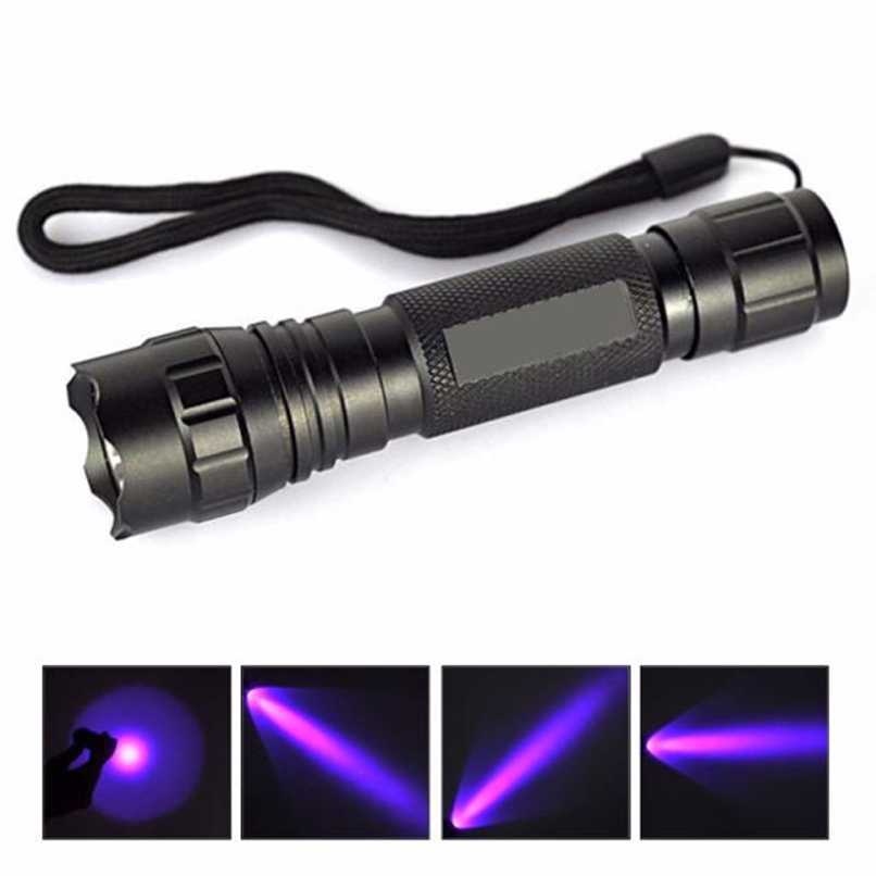 UV WF-501B LED 365NM Ultra Violet Blacklight Flashlight Torch 18650 Light Lamp #F#35TY0 таблетки finish quantum powerball shine