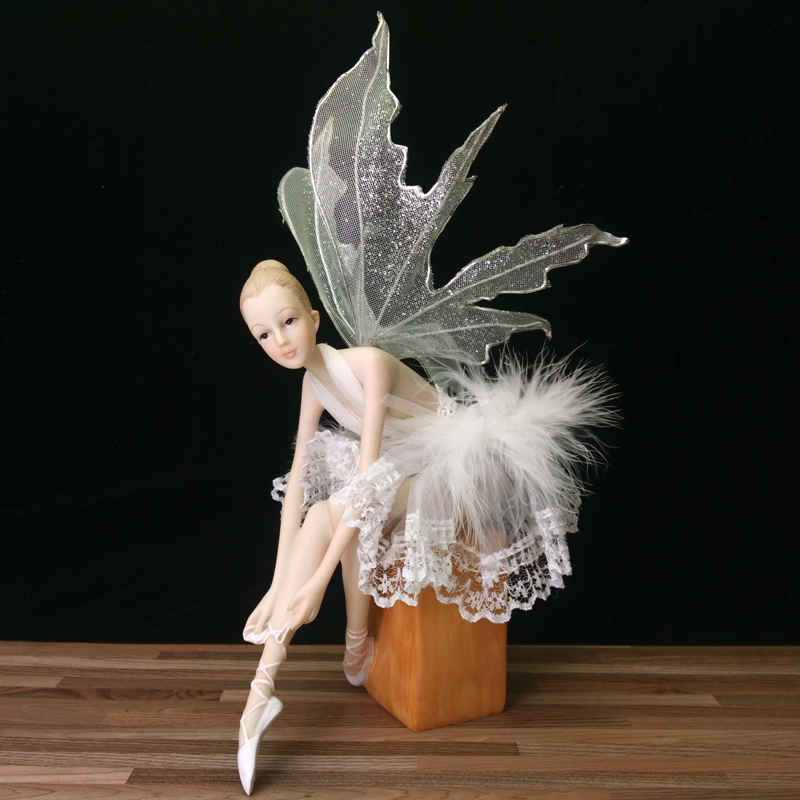 Aliexpress.com : Buy Beautiful Ballet Girl Garden fairy ...