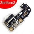 Carga cargador USB enchufe conector micrófono del muelle del tablero para ASUS Zenfone2 Zenfone 2