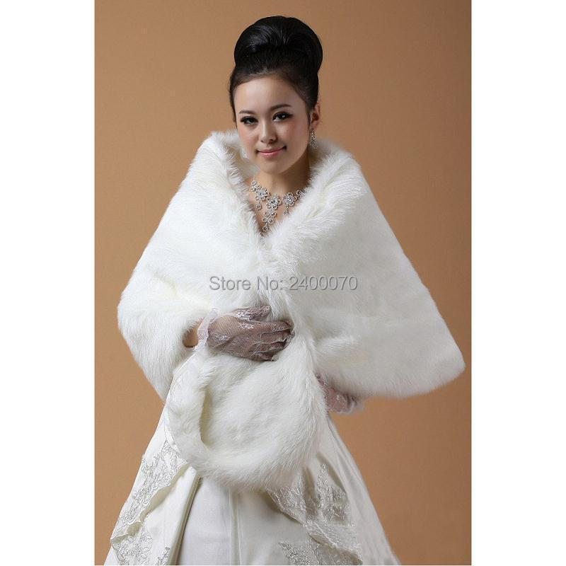 Aliexpresscom  Buy Free Size Fur BoleroCape Shrug Stole Bridal Accessory Wedding Coat for