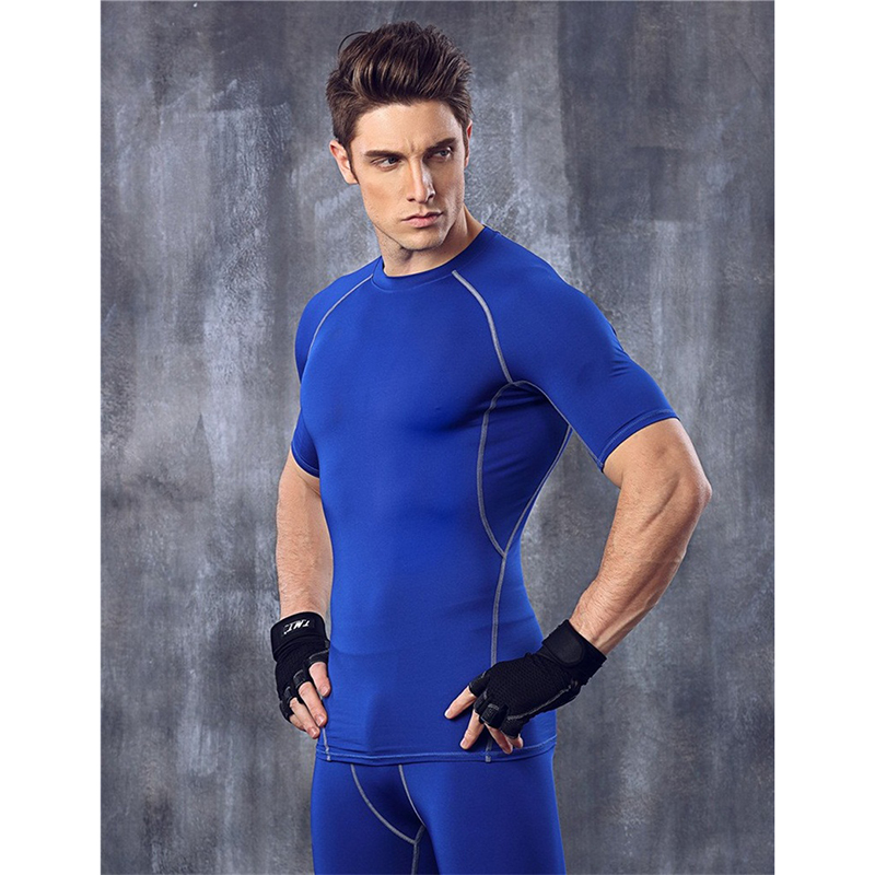 Tight Shirts Men Lined Running Newest Super Comfortable Weights For Sports Fitness Suit Top Sports Things For Men Christmas Gift