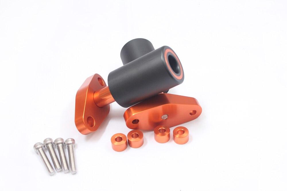 Новый оранжевый ЧПУ Рамки ползунки Защитные гвардии Для KTM DUKE 125 200 390 2012 2013 2014 2015