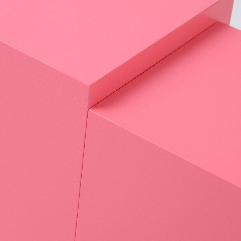 Montessori profesional torre rosa sin soporte 1 cm a 10 cm Educación Temprana Preescolar niños Juguetes Brinquedos Juguetes - 5