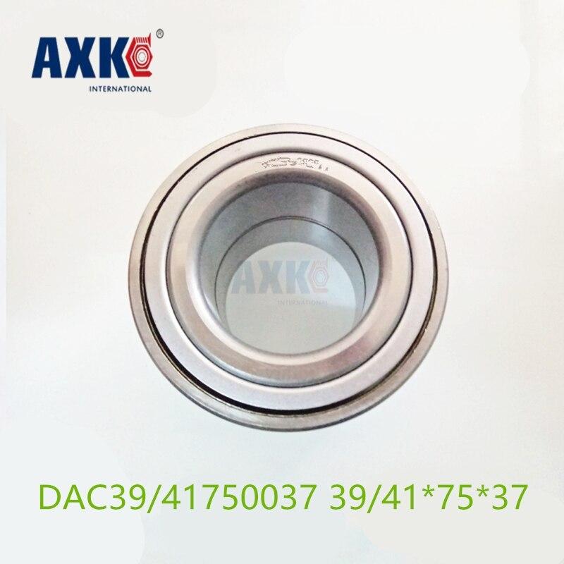 AXK  High speed Car Auto Wheel Hub bearing DAC39/41750037 Free Shipping 39/41*75*37 39/41x75x37 mm High Quality 4pcs dac3063w 30x63x42 dac30630042 dac3063w 1 9036930044 574790 dac3063w 1cs44 hub rear wheel bearing auto bearing for toyota