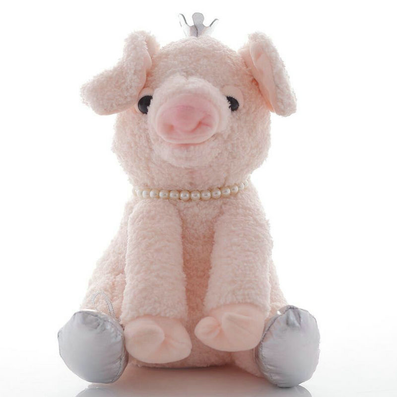 28cm Cute Electric The Sleepy Snoring Pig Electronic Sing Toy Soft Pig Stuffed Animal & Plush Toy Children Christmas Gift